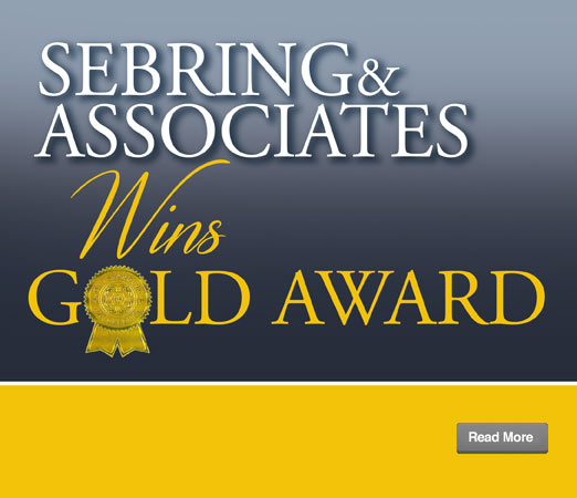 Sebring & Associates Wins Gold Award