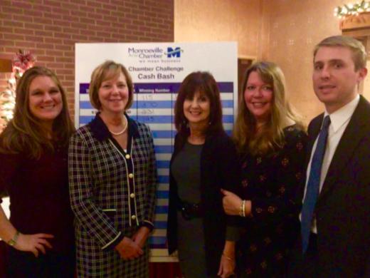 Pictured from Left to Right: Rhonda McFarland, Brenda Sebring, Esq., Marylou Battista, Robin Toops, Daniel Puskar, Esq.