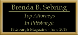 Brenda B. Sebring Top Attorney in Pittsburgh